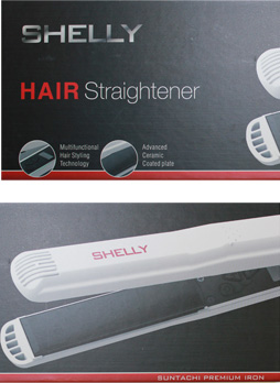 Shelly Hair Straightener White
